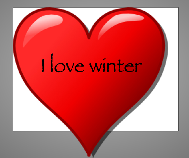 heart winter