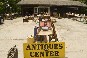 Antiques and More was one of the many antique shops in Barton that did well at Barton's townwide yard sale this year.  To other businesses, it was just another Saturday.  Photo by Nathalie Gagnon-Joseph